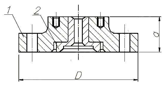 Фланец переходной ГОСТ 12790-89